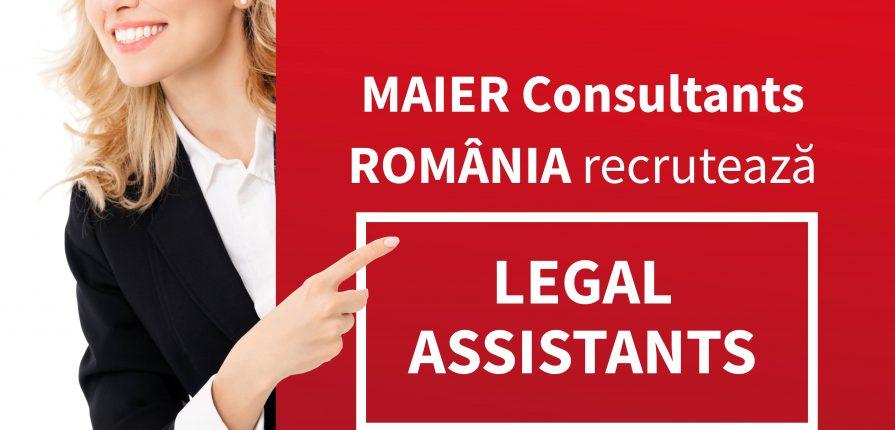 Asistent în cabinet de consultanță juridică